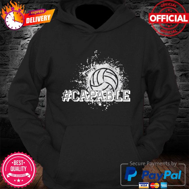 Official Volleyball #capable s Hoodie