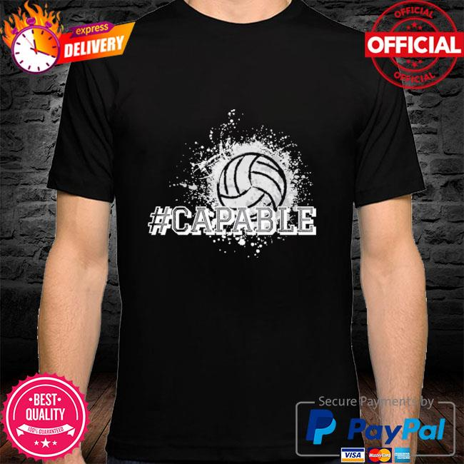 Official Volleyball #capable shirt