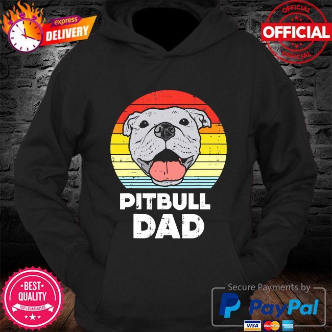Pitbull Dad vintage s Hoodie
