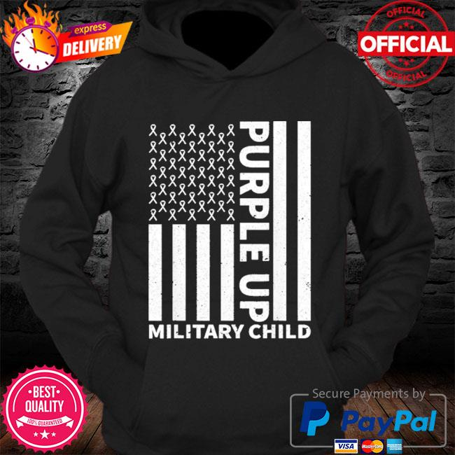 Purple up for military child military month s Hoodie