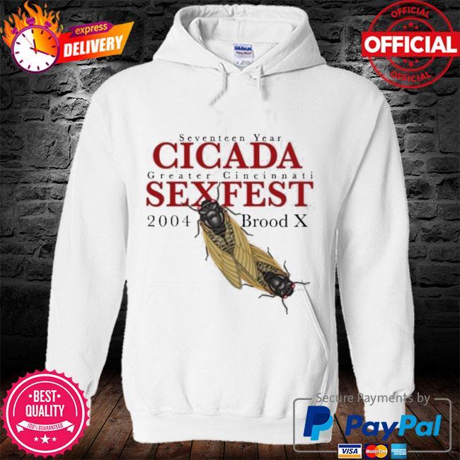 Seven shirtn year gigada greater gincinnati sexfest 2004 s hoodie