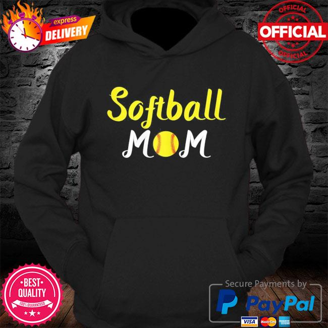 Softball momma baseball sport mothers day quote s Hoodie