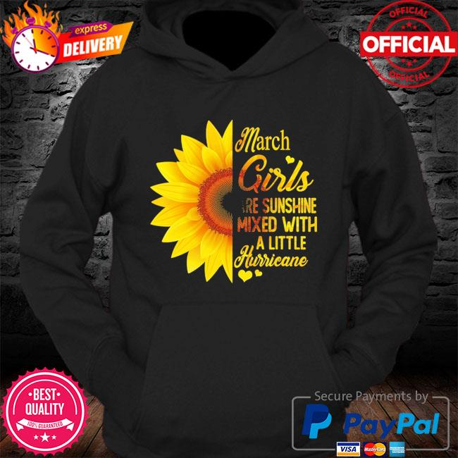 Sunflower Mach girls are sunshine mixed with a little hurricane s Hoodie