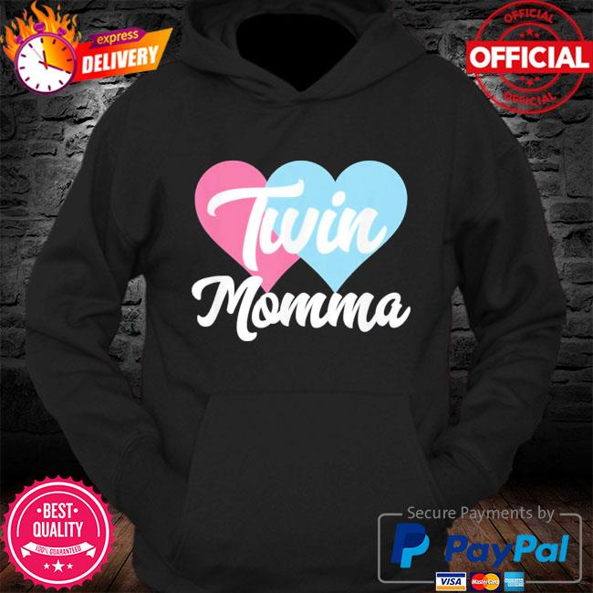 Twin momma mothers day fraternal twins mom s Hoodie