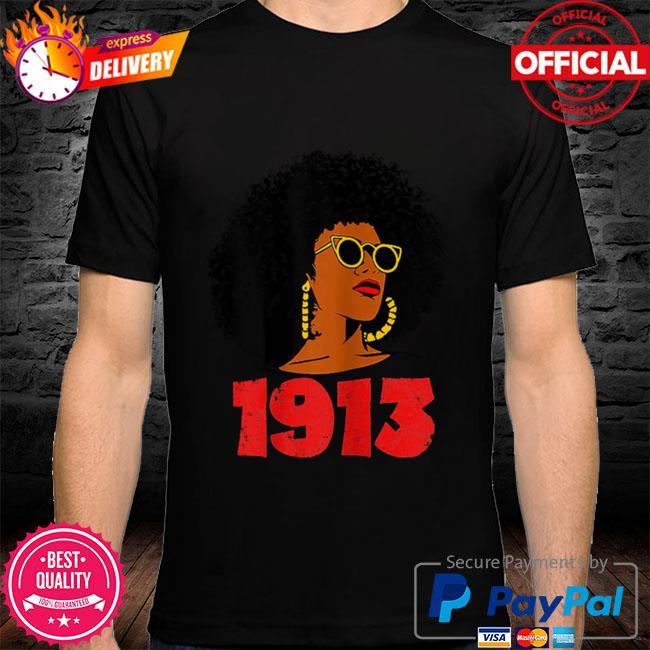 Womens delta 1913 sorority sigma friend paraphernalia shirt